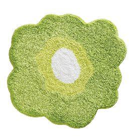 Коврик Inter Design из микрофибры (зеленый мак)